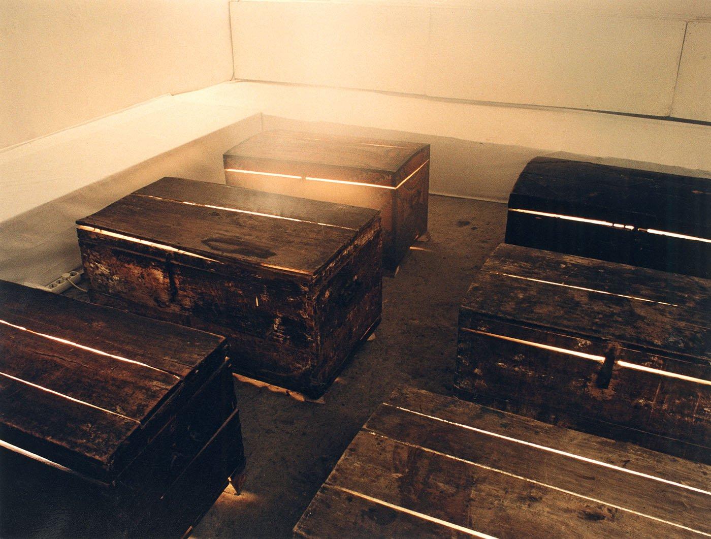 Sleeping in Coffins